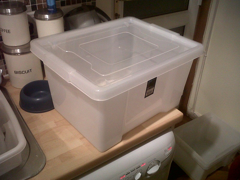 Cheap 27 Litre Clear Storage Box £3@Asda